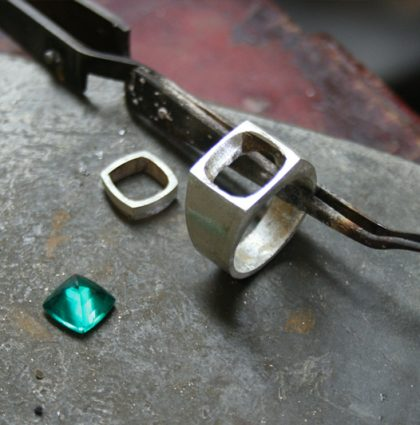 Process of making a ring